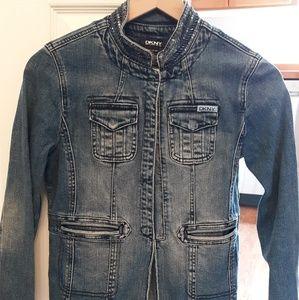 DKNY girls denim jacket